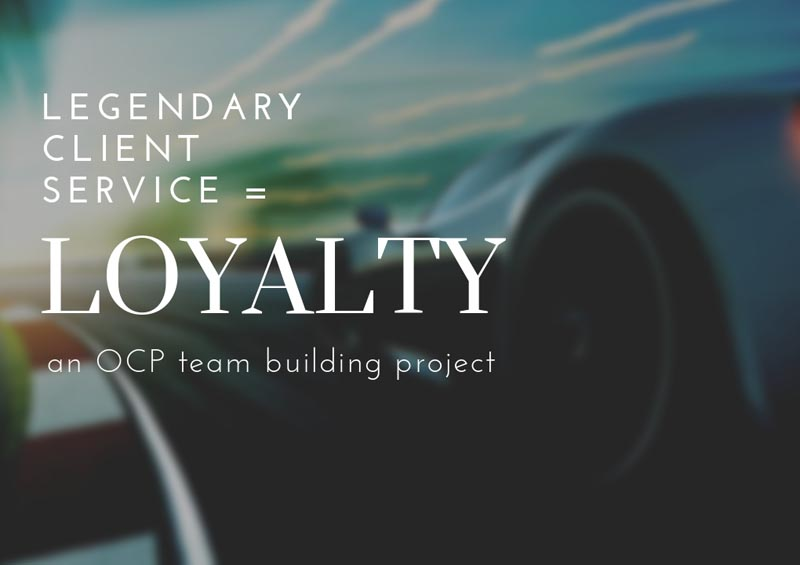 Developing Client Loyalty