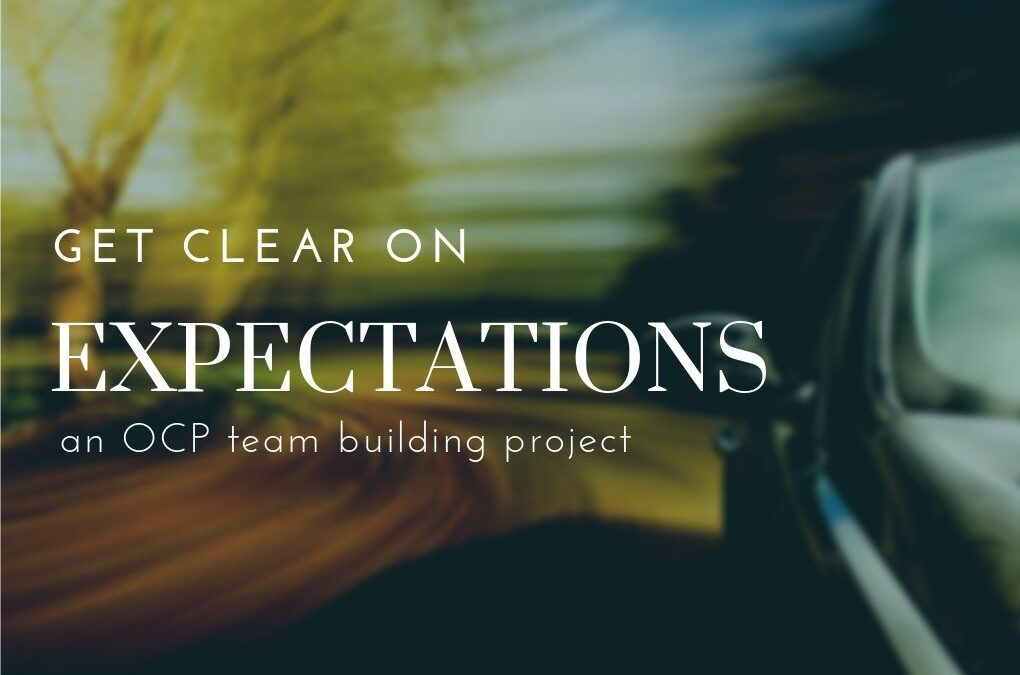 Get Clear On Expectations